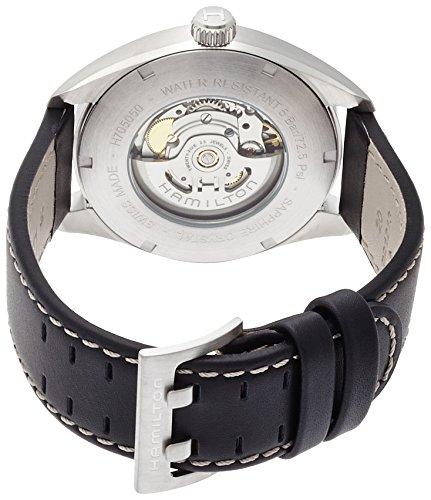 Hamilton Herren Analog Automatik Uhr mit Leder Armband H70505753 - 2
