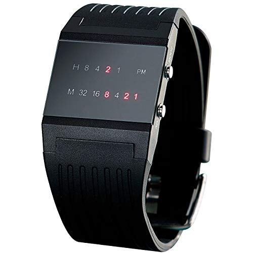 Monsterzeug Binäre Armbanduhr, Binäruhr