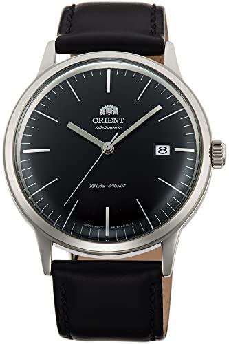 Orient Unisex Erwachsene Analog Automatik Uhr mit Leder Armband FAC0000DB0