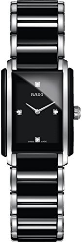 Rado Integral Damen-Armbanduhr Diamant Armband Keramik Batterie R20613712
