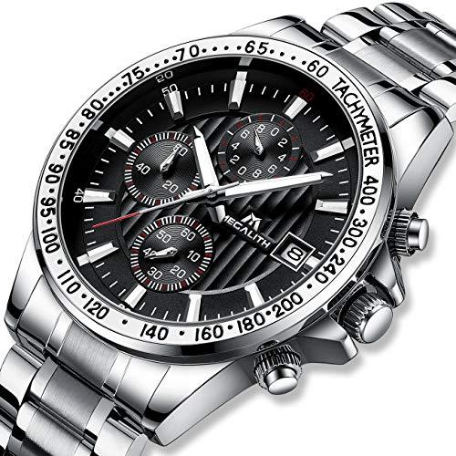 megalith-herrenuhr-chronographen-herren-armbanduhr-silber-edelstahl-wasserdicht-uhren-fur-maenner-designer-schwarz-ziffernblatt-business-uhr-leuchtende-analog-datum-2