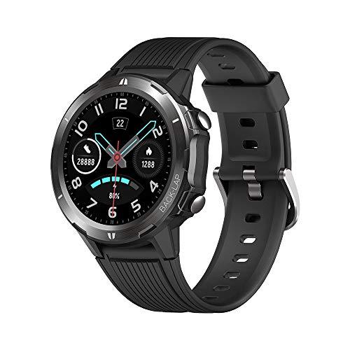 KUNGIX Smartwatch, Sportuhr Voller Touchscreen Fitnessuhr