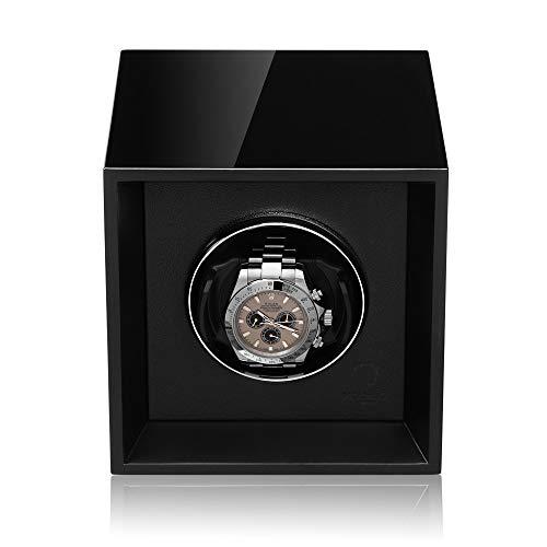 MODALO Uhrenbeweger Impress für 1 Automatikuhr (Schwarz) - 2