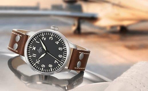 Hersteller Laco: deutsche Fliegeruhren und Marineuhren Logo